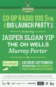 Coop Radio Big Launch Party